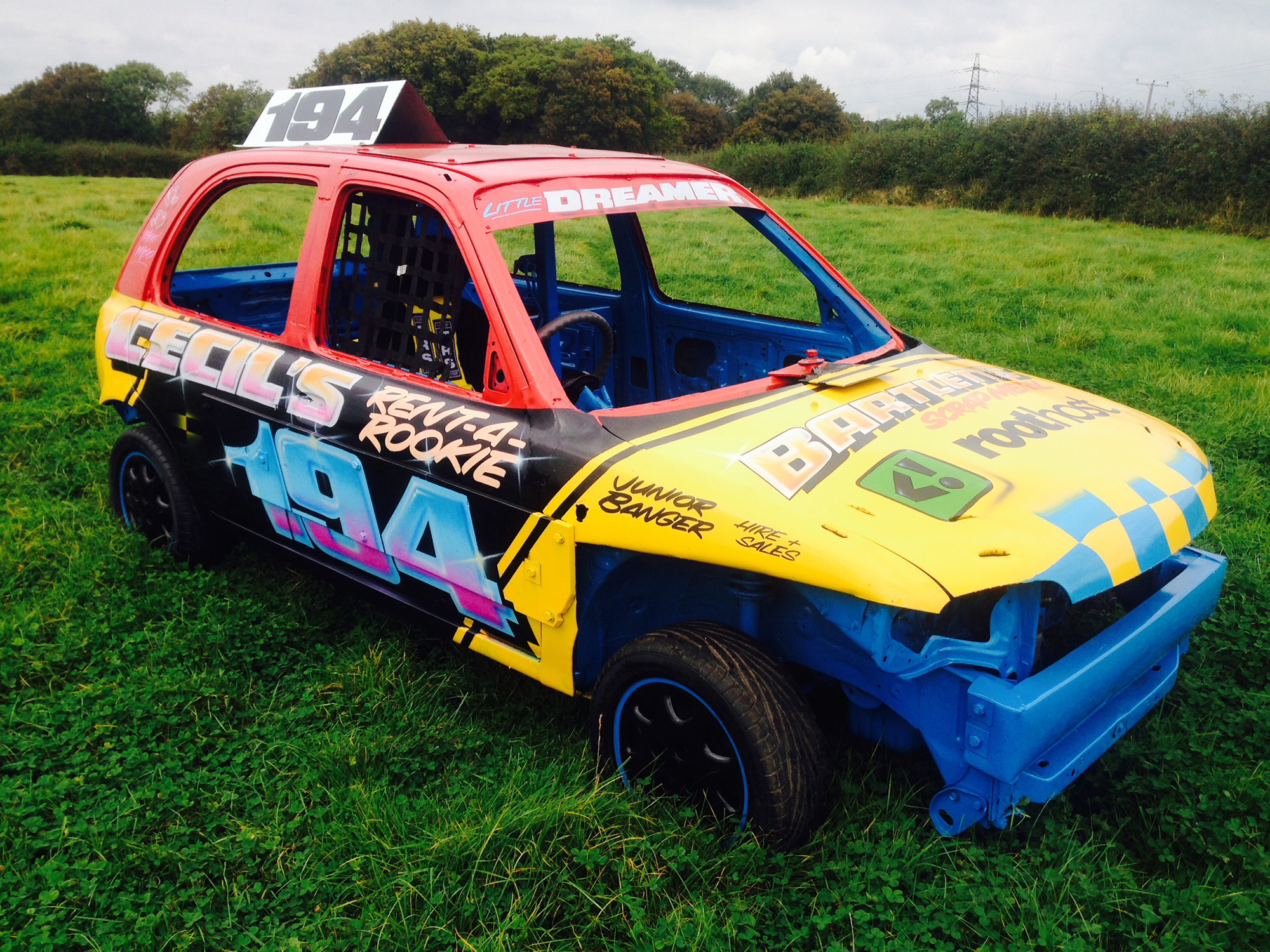 Junior Bangers For Hire | Banger Racing | Cecil\'s Rent A Rookie